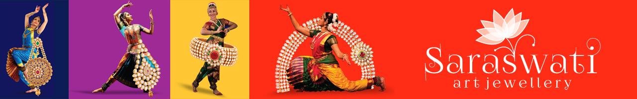 Saraswati Art Jewellery Banner