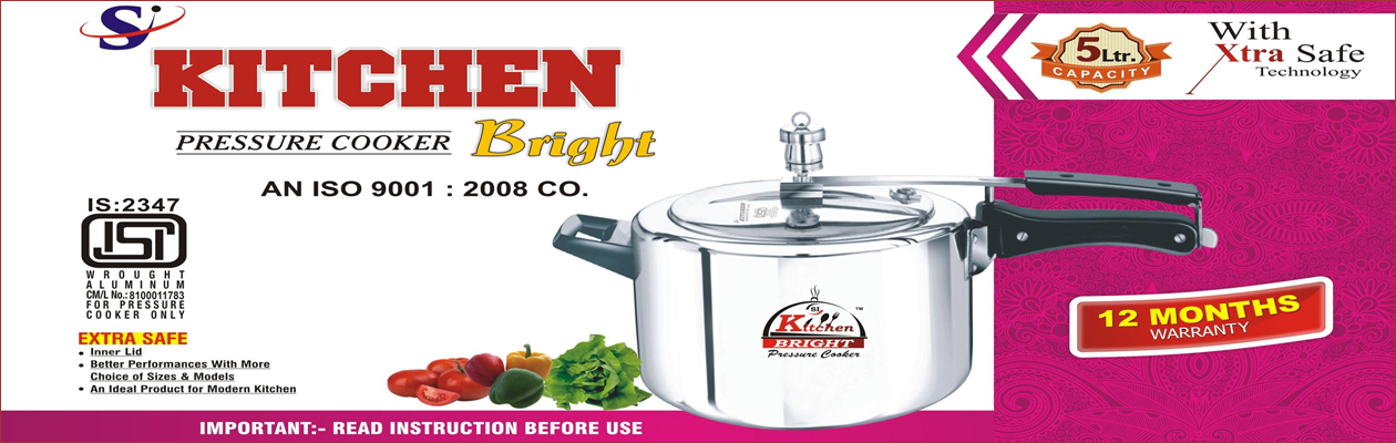 Steel Pressure Cooker Manufacturer Domestic Cookers Supplier In India