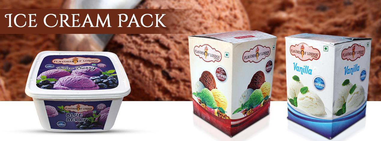 Ice Cream Pack Manufacturer in Delhi,Chocolate Ice Cream