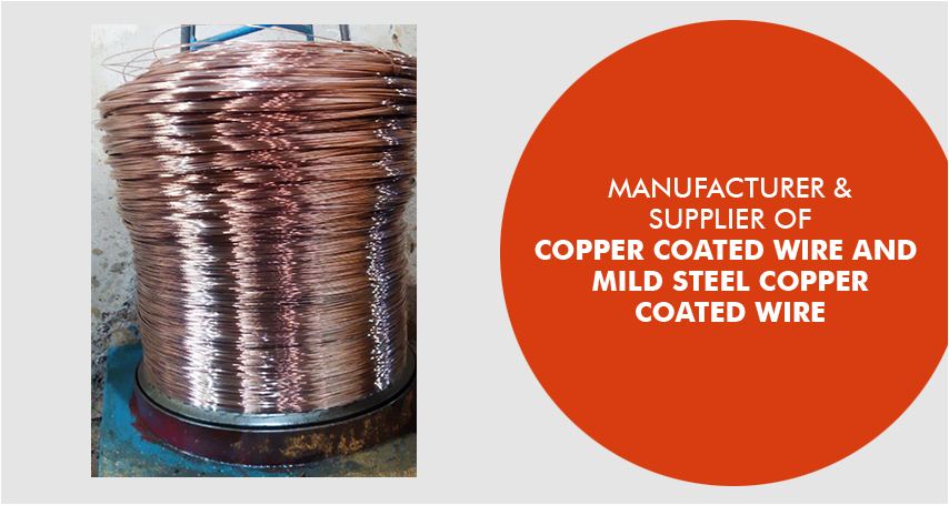 Copper Coated Wire Manufacturer,Copper Coated Steel Wire Supplier in ...