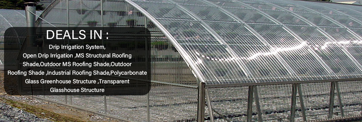 Poly Greenhouse Manufacturer,Eco Friendly Greenhouse Supplier,India