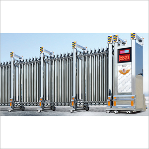 Retractable And Industrial Gate
