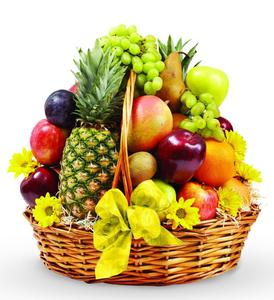 Fresh fuit basket