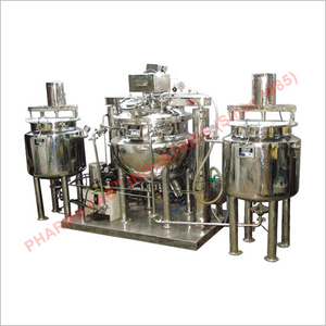 Orintment - Lotion - Cream Manufacturing Section