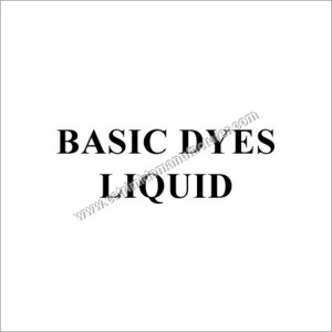 Basic Dyestuffs