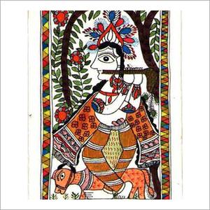 Hindu Religion Mithila Paintings