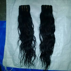 Non Remy Wefted Hair
