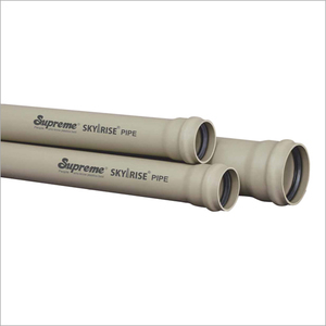 SWR Drainage Pipe And Fittings