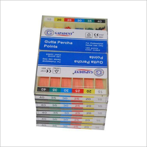 Gutta Percha and Paper Points