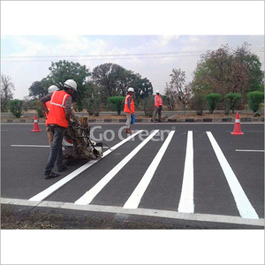Road Marking Plant And Machine