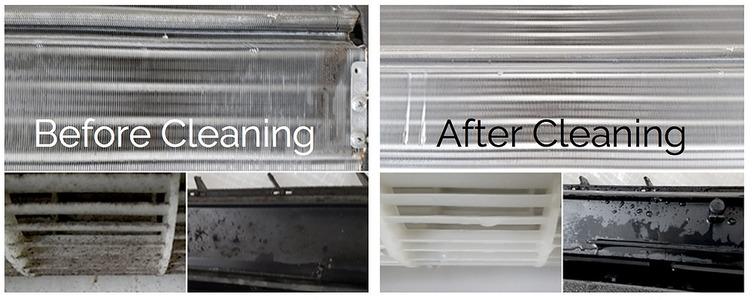 Non-Acid AC Coil Cleaner and Brightener