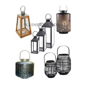 Candle Lanterns and Holder