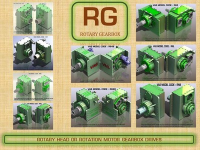 RG : ROTARY HEAD GEARBOX UNITS