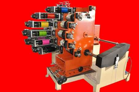 Six Color Dry Offset Printing Machine