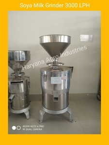 Soya Milk Grinder 3000 LPH