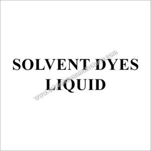 Solvent Dyestuffs