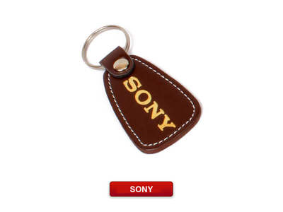 Leather Modified Key Ring