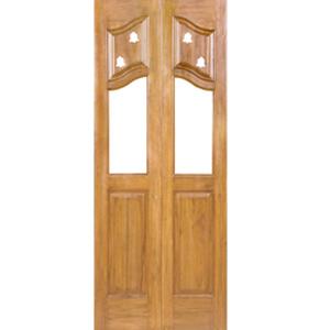 Teak Pooja Room Doors